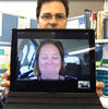 Video conferencing overcoming barriers of distance for rural and remote patients and carers